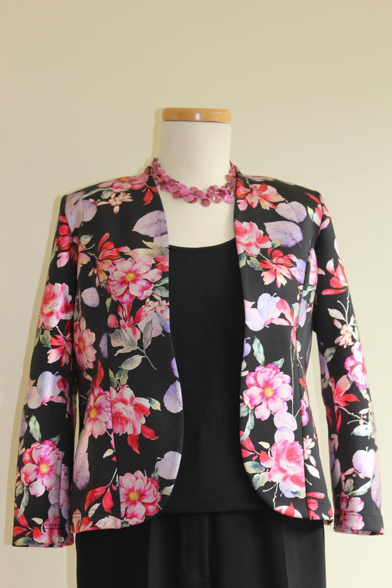 Georgede Jacket Pink Floral