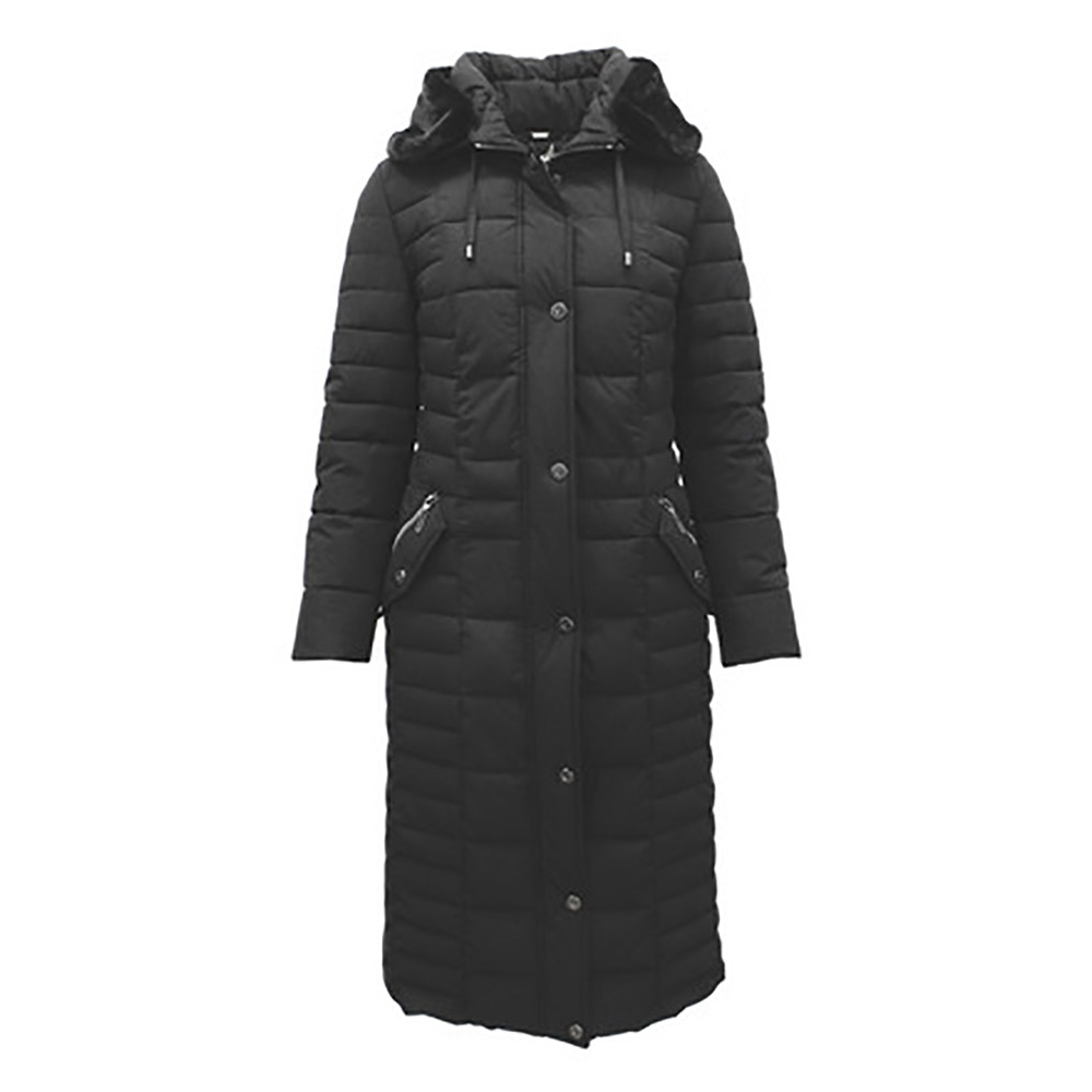 Barbara Lebek Black Down Free Padded Coat